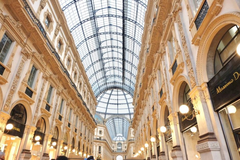 Inside Galeria Vittorio