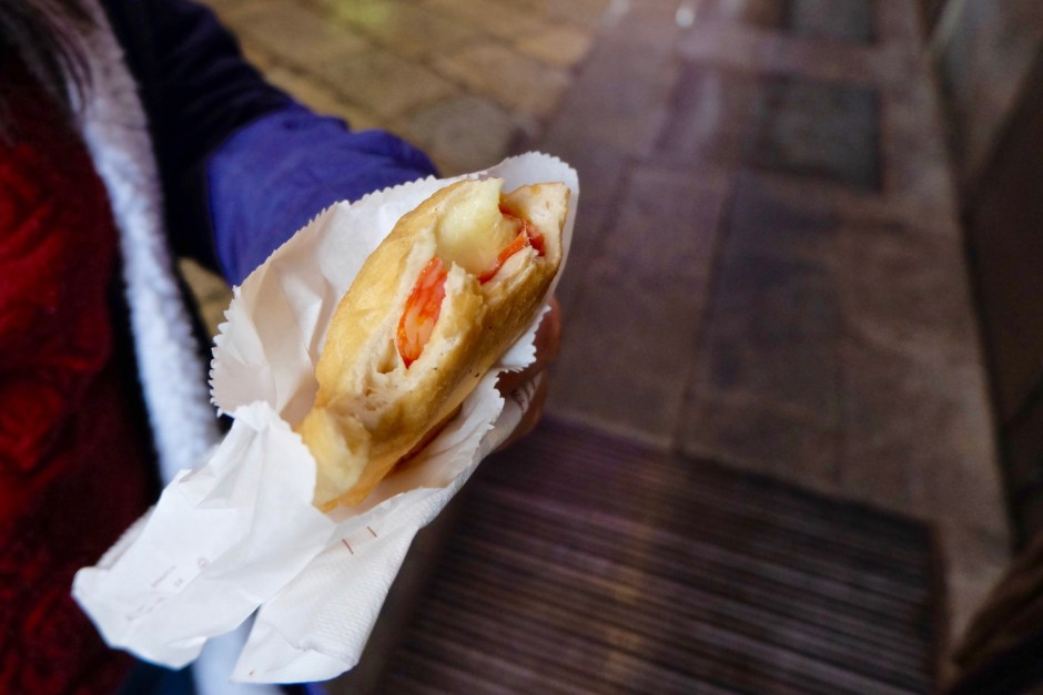 panzerotti Mozzarella and Tomato