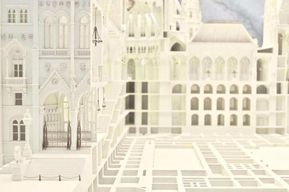 Hungarian Parliament Miniature Interior