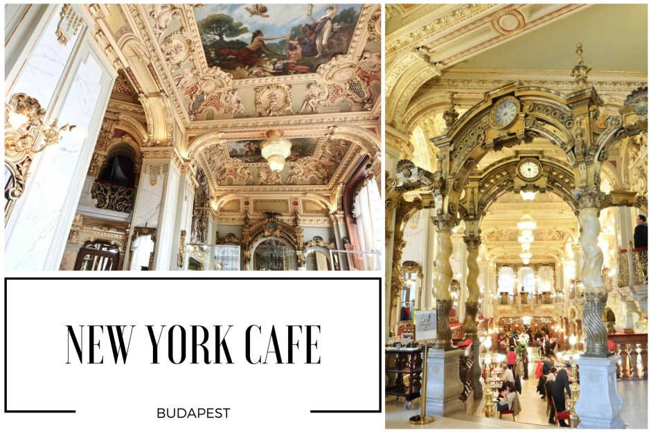 New York Cafe Collage