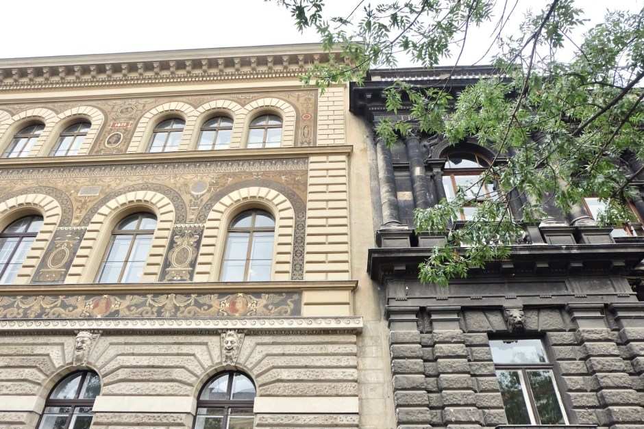 Andrassy Street Architecture Building