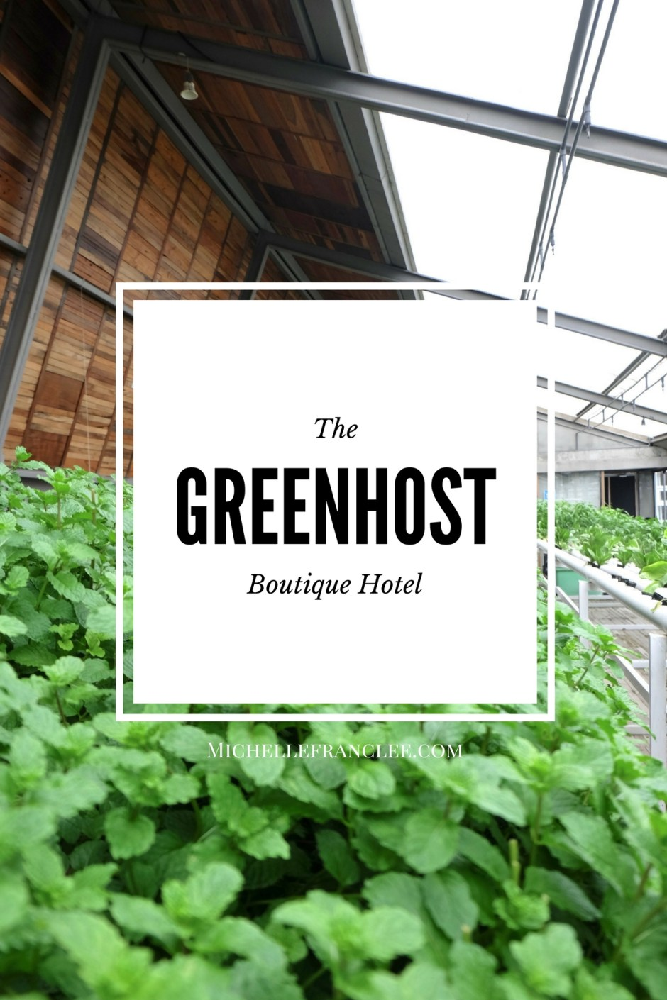 Greenhost Boutique Hotel Pinterest