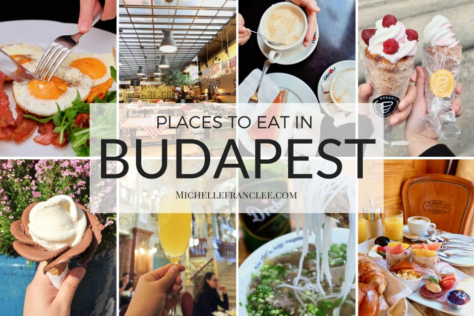 Places to eat in Budapest