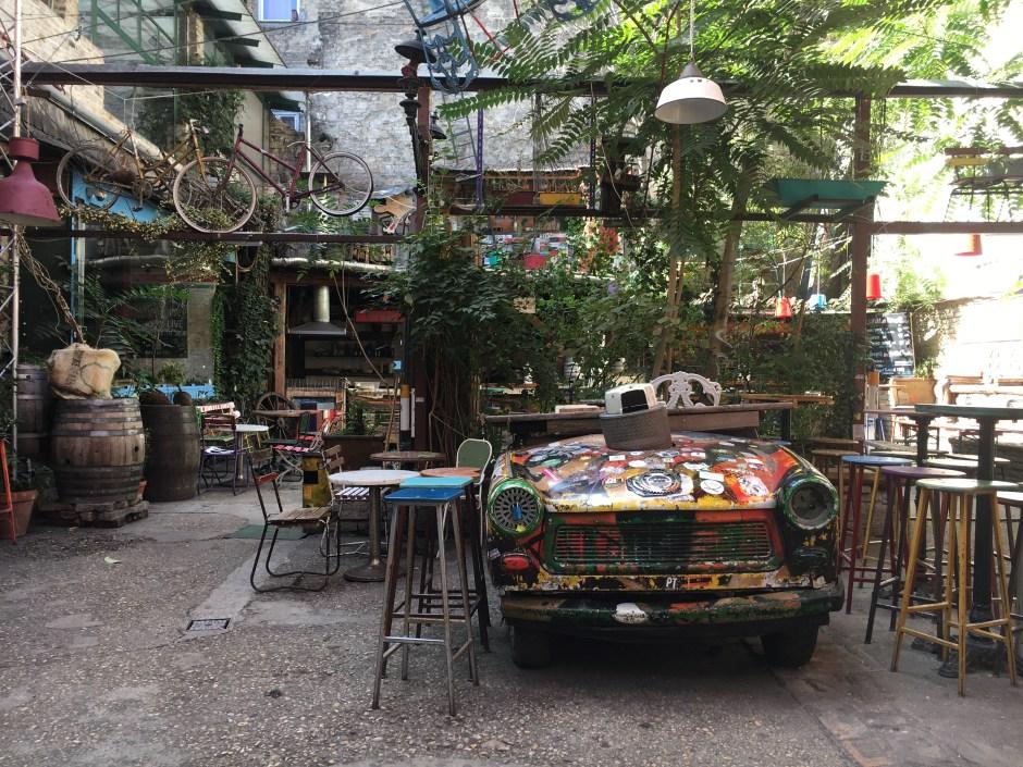 The Famous Car Szimpla Kert Ruin Bar