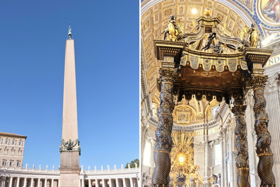 Canopy St. Peter Vatican Rome