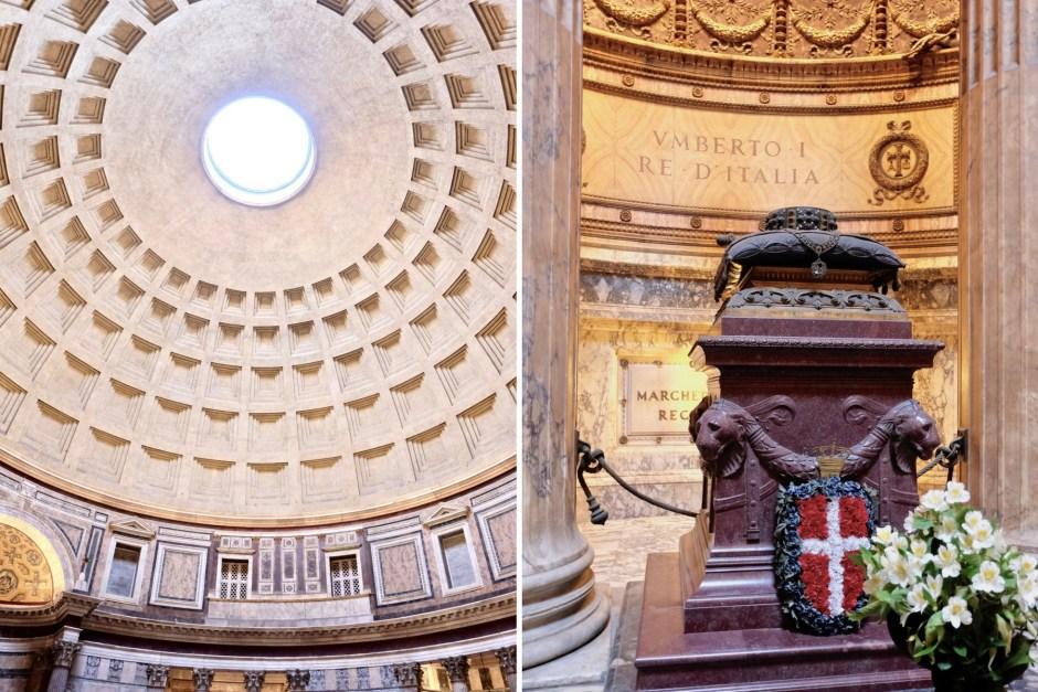 Inside Pantheon Rome