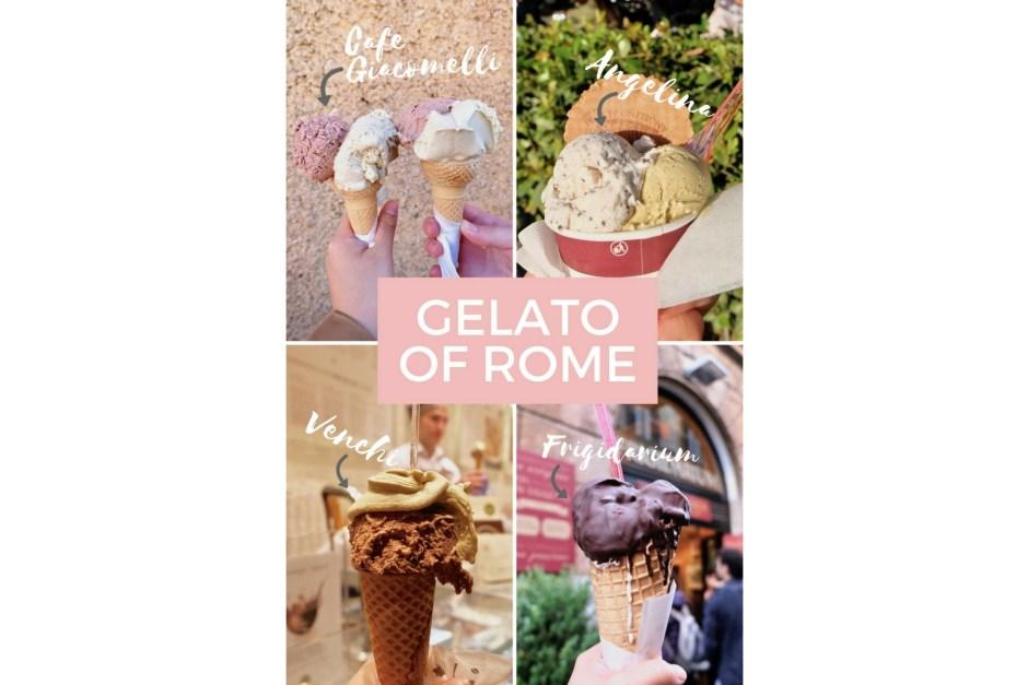 gelato of rome