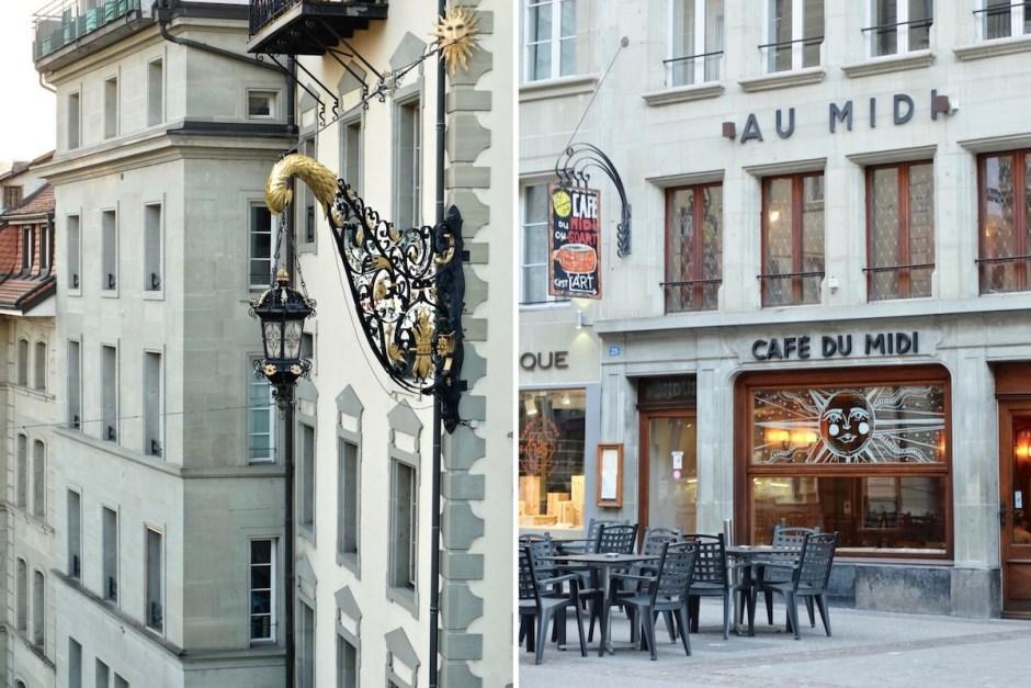 Cafe du midi Fribourg Swiss