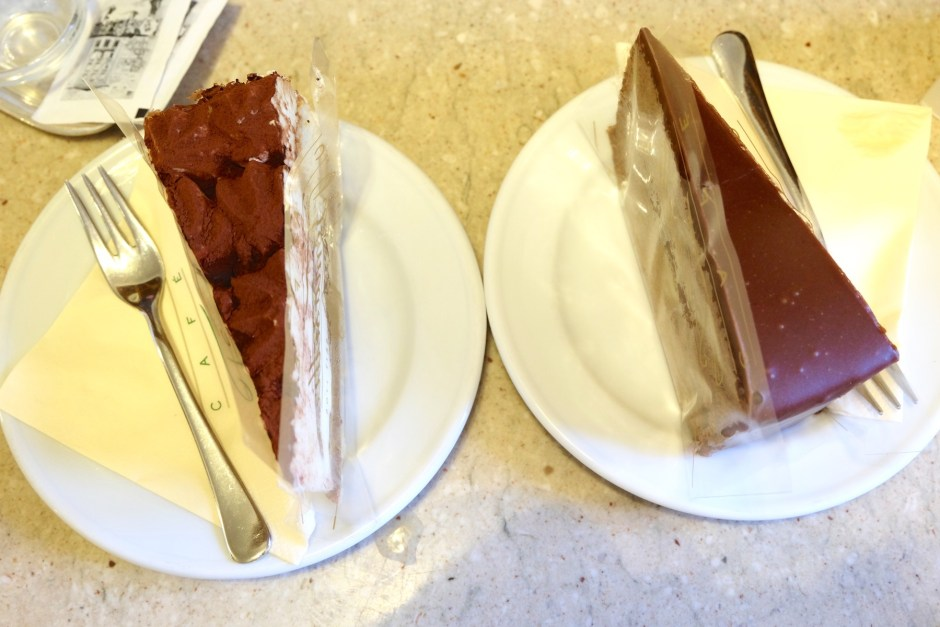 Cakes Cafe Tomaselli Salzburg