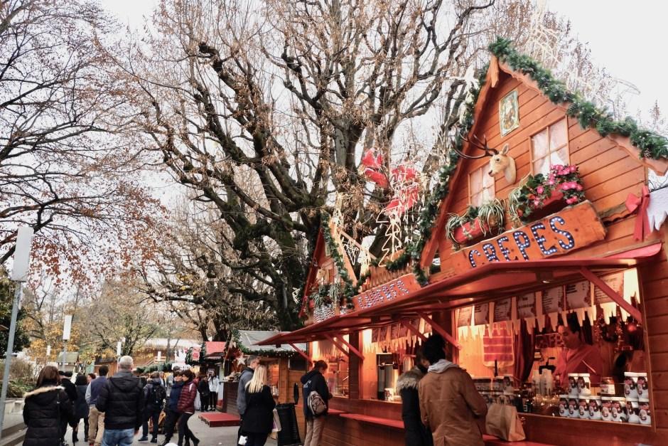 Food Christmas Market Montreux