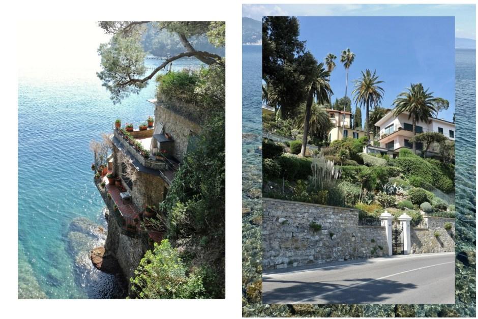 Italian villa house coast portofino
