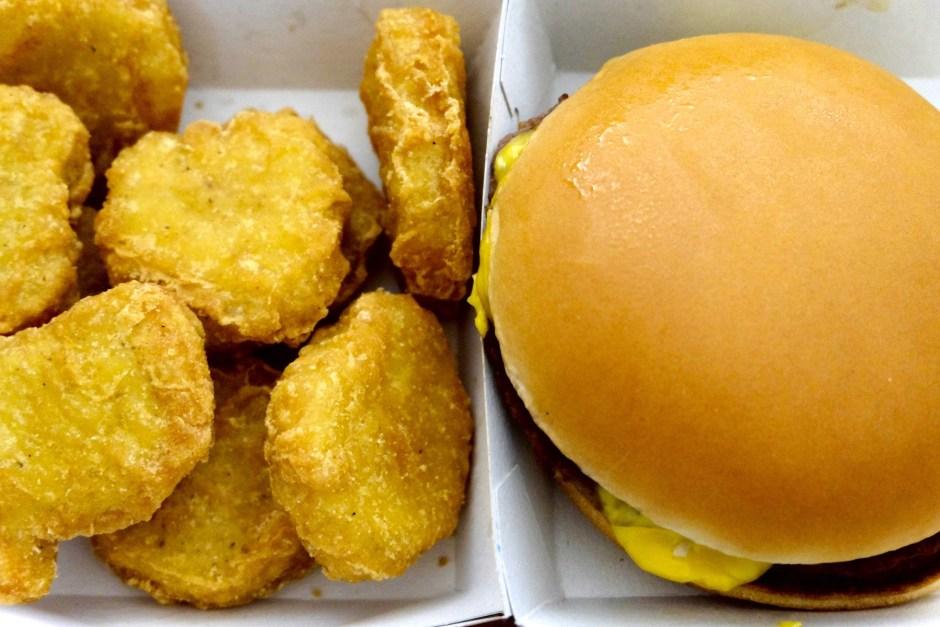 McDonald Switzerland Expensive Burger Nugget