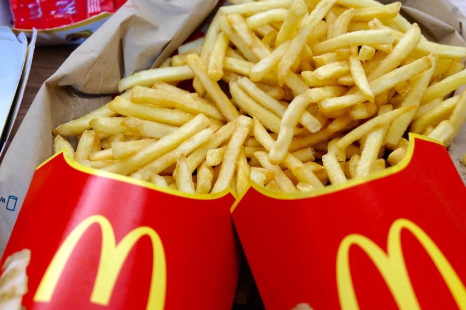 McDonald's French Fries Swiss