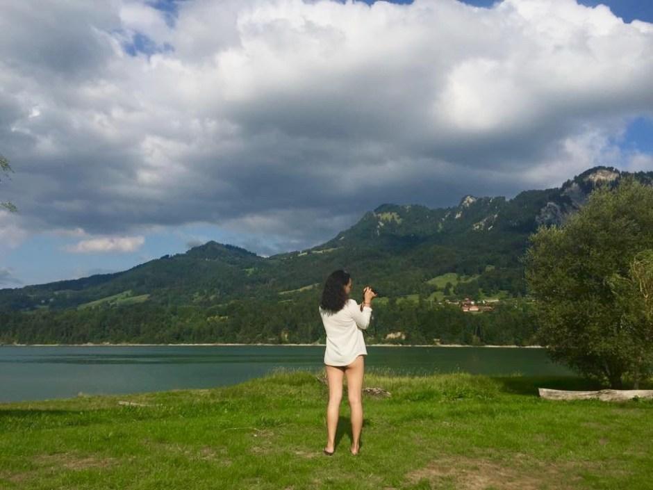 Michelle Franc-Lee  Lake Gruyere Swiss