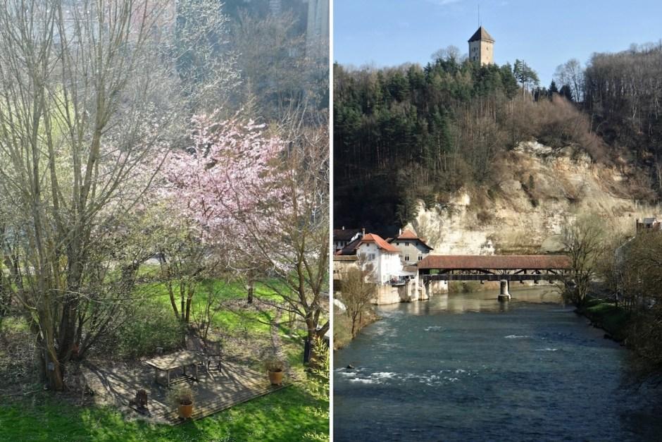 Pont de Bern Brirdge Swiss Fribourg