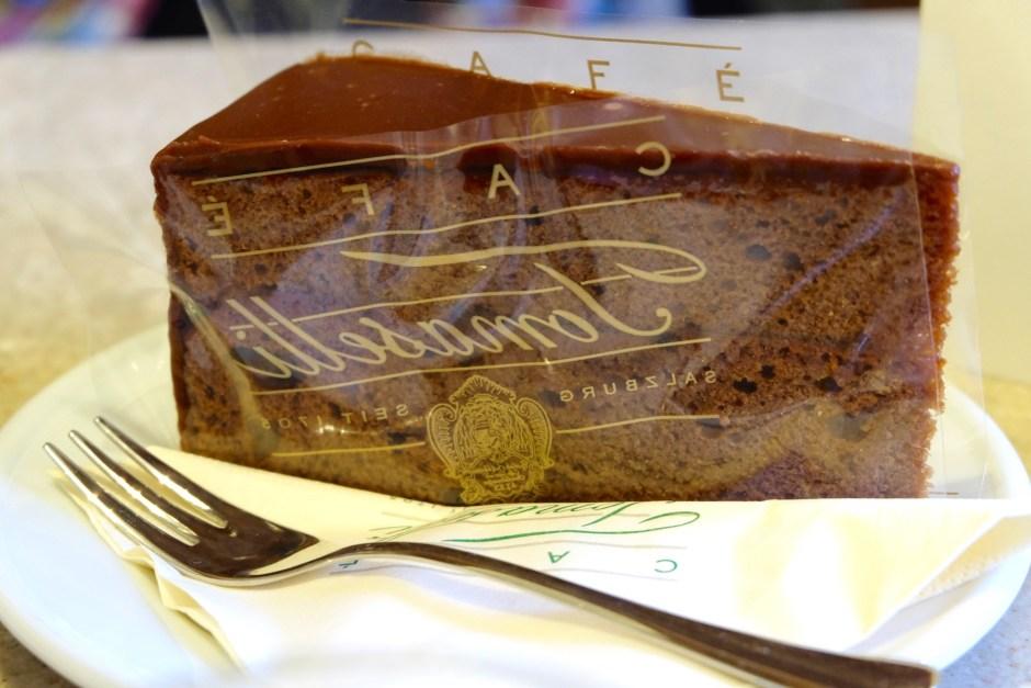 Sacher Torte Cafe Tomaselli