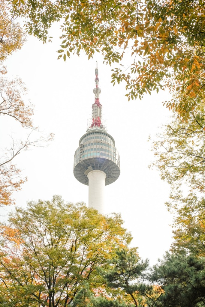 namsan tower seoul korea michelle travel blog