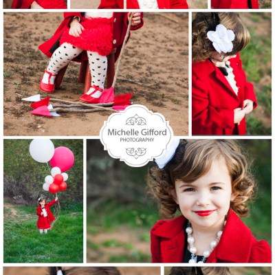 Valentine Mini Session, Riverside, CA Child Photographer