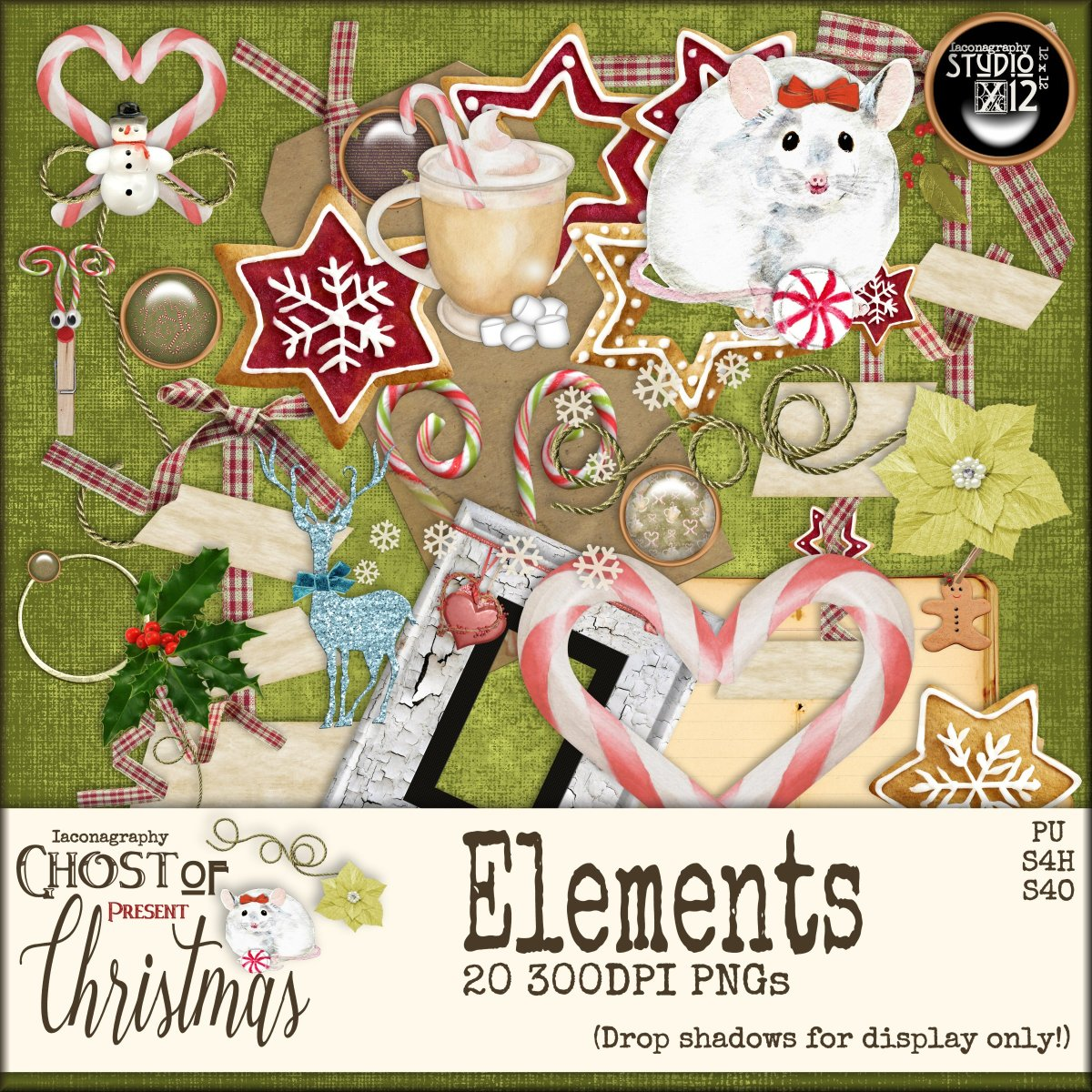 Ghost of Christmas Present Elements (Gathering, 12/2016) – Iaconagraphy