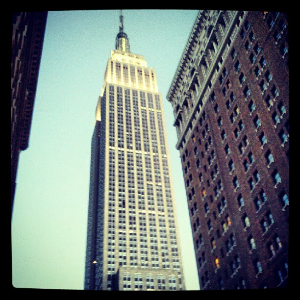 Empire State of Mind #NYC #empirestate #landmark #newyork