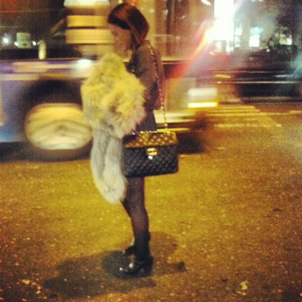 Chanel Bag #Chanel #NYC #streetscene