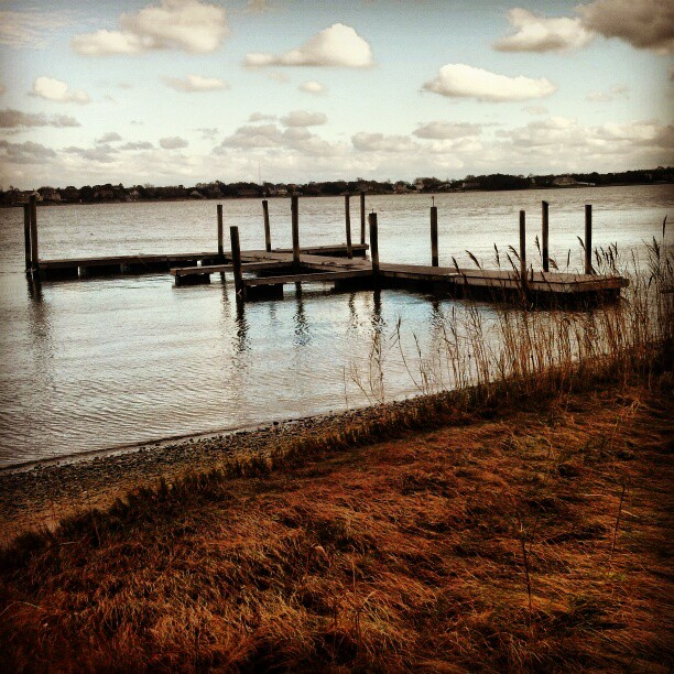 Floating dock #sandy #hamptons #longisland #damage