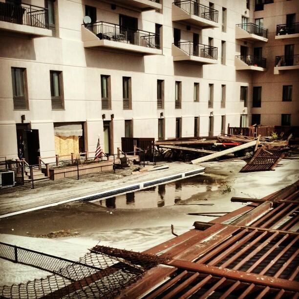 Swimming pool, Long Beach NY #sandy  #destruction #longisland