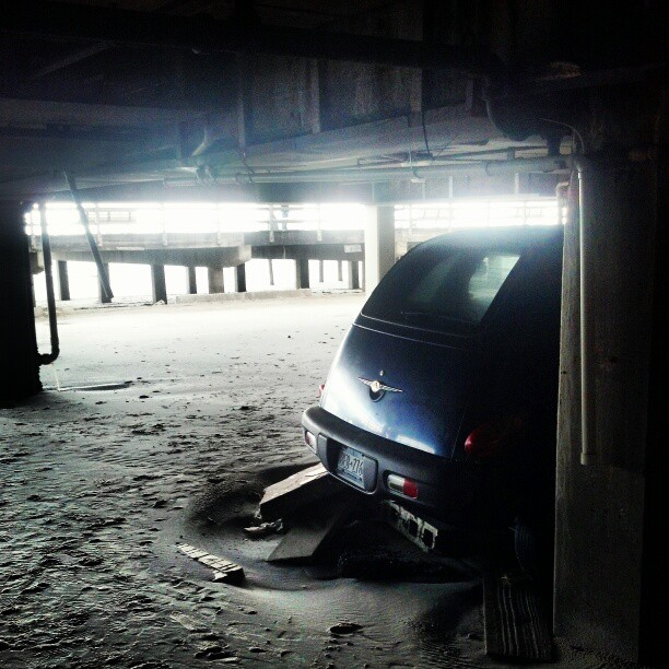 Parking garage, Long Beach NY #sandy #hurricane #destruction #longisland