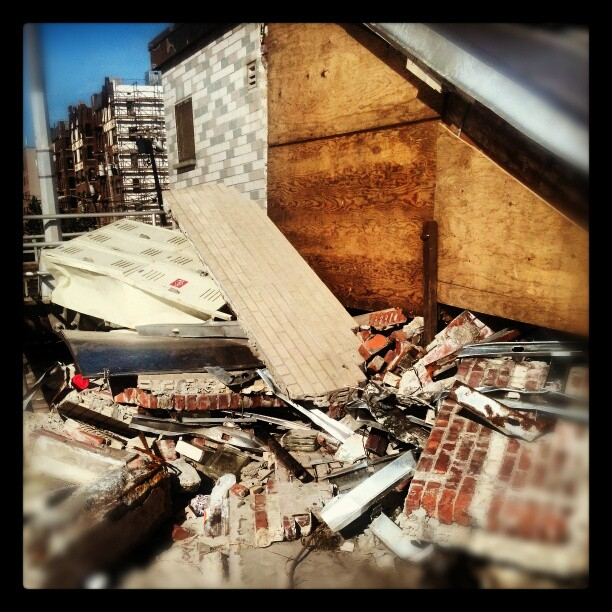 Comfort station, Rockaway #nyc #sandy #destruction #photography #Queens