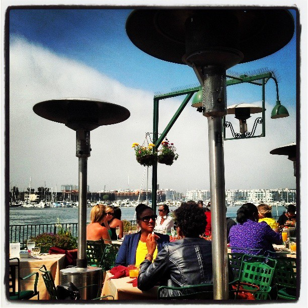 Brunch in Marina del Rey.  I' in short sleeves.  Be jealous.  #photography #losangeles #awesome