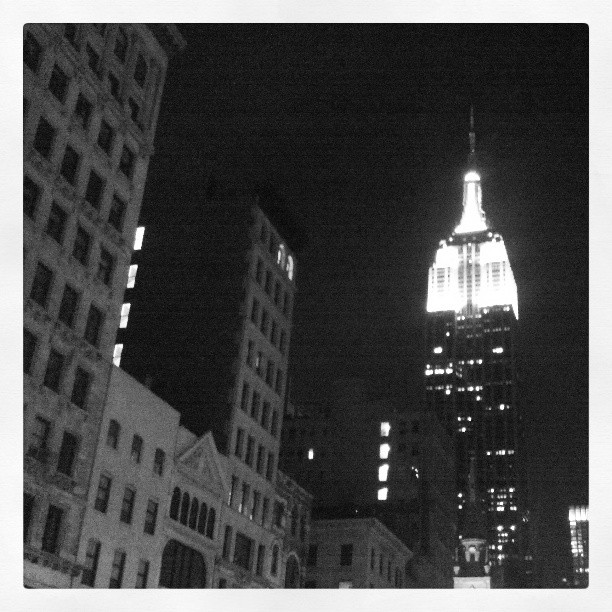 Live From New York, it's Saturday Night ! #newyork #photography #empirestatebuilding