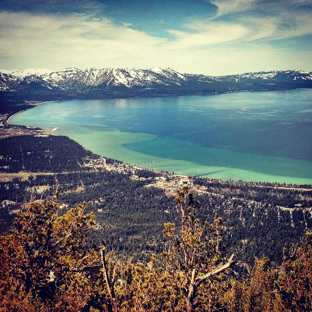 Lake Tahoe at 8000 feet #photography #travel #California #awesome #landscape