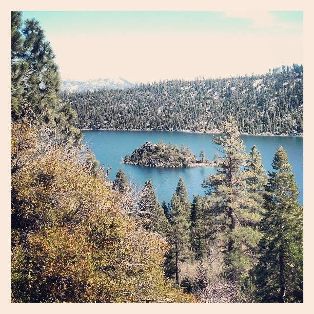 Island, Emerald Bay #laketahoe #California #travel #photography