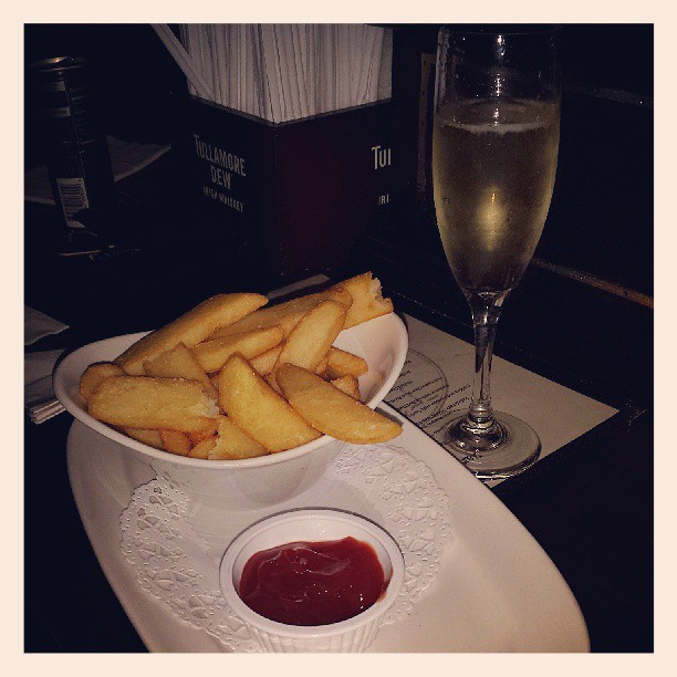 French Fries & Champagne #afterparty #asmpaspp13 #decadence
