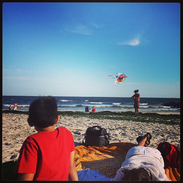 Fish Kite, Long Beach #longisland #beach #newyork #photography #summer #fun