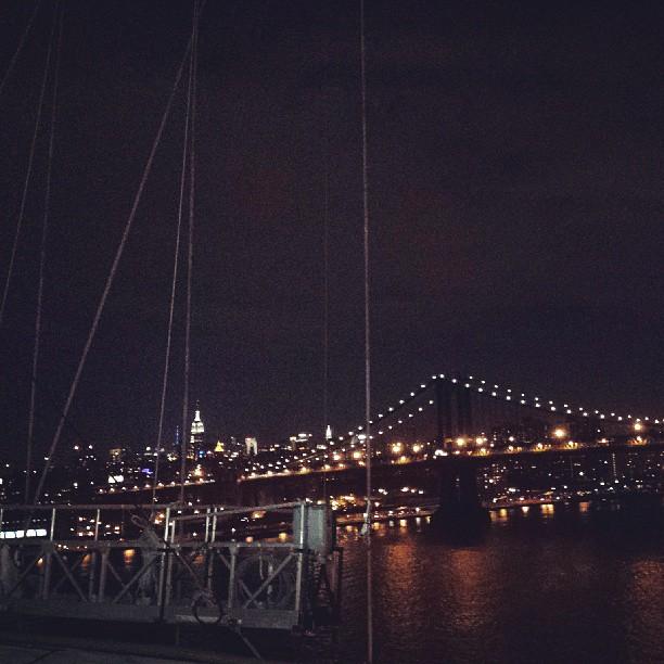 View from Brooklyn Bridge #photography #newyork  #brooklyn #landscaoe