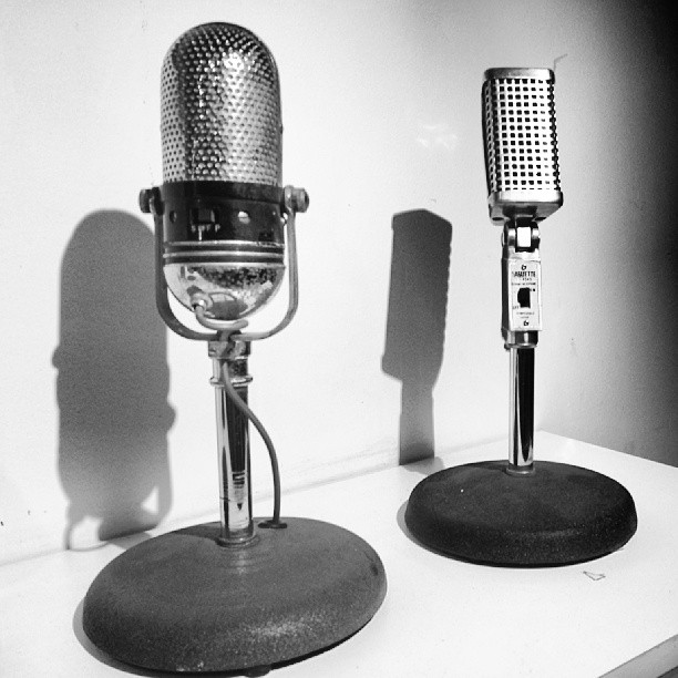 More Vintage Microphones #vintage #retro #cool #audio #tekserve