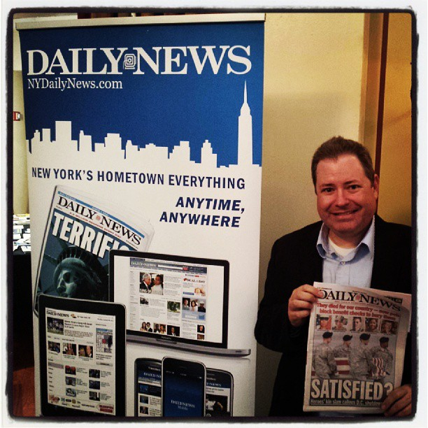 My favorite newspaper ! #tradenassau #nydailynews