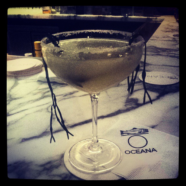 Oceana Cocktail #midtown #swank #delicious #afterparty