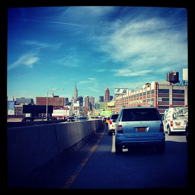The Manhattan View #empirestate #newyork #landmark #building #architecture  #queens