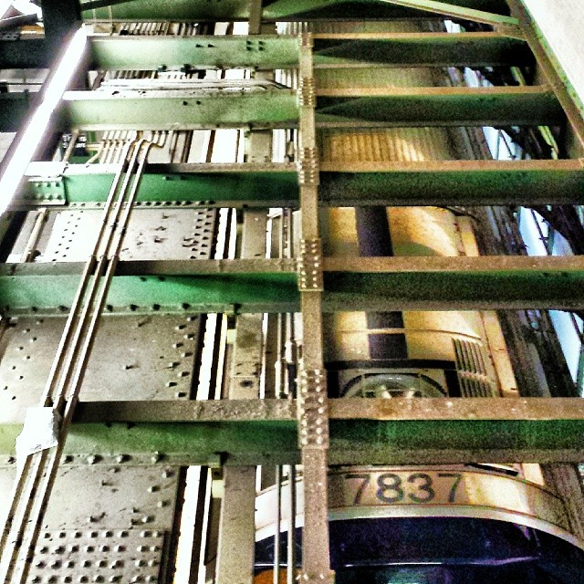 #Subway Car #Abstraction #train #transportation #newyork #metal #art