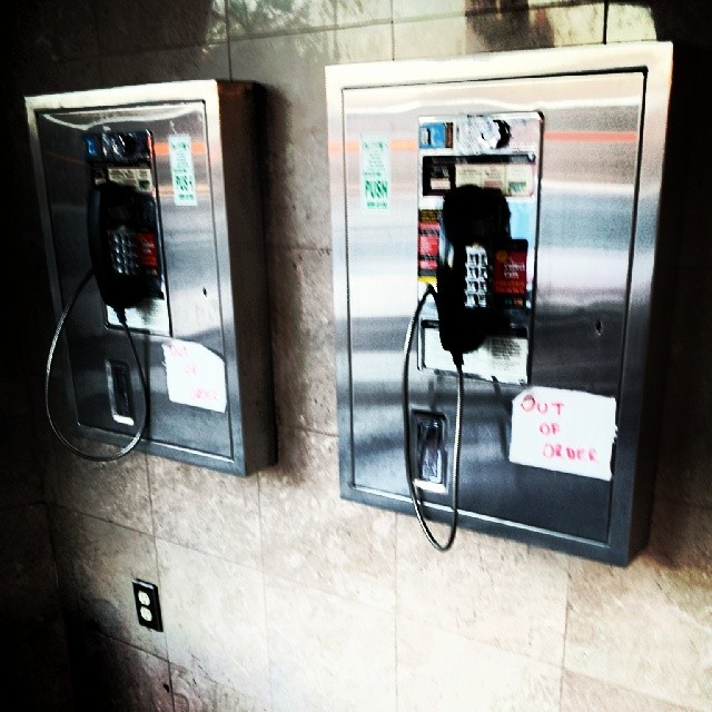 Sign of the Times #payphones #obsolete #phone #diner
