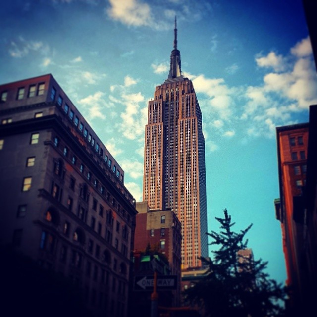 August Sky, Empire State Building #newyork #landmark #nyc #newyorkcity