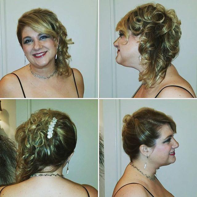 Gorgeous #wedding #hair by Giorgios in Whitestone #Glam #gorgeous #fancy