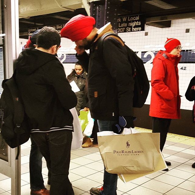 Polo Ralph Lauren ##nycphotographer #mta #subway #red #streetphotography