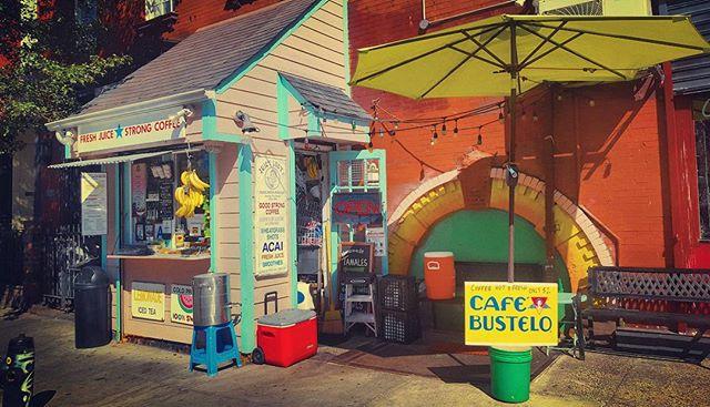 Cafe Bustelo #coffee #les #newyorkphotographer #streetscene #bustelo #latergram