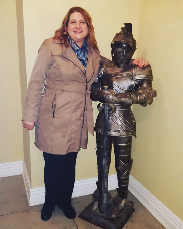 My #knight in shining #armor.  #goldcoast #latenighthilarity #ajobwelldone #medieval #ohekacastle #canigohomenow #newyorkeventphotographer