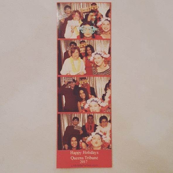 Queens Tribune Holiday Party 201 #party #happyholidays #fun