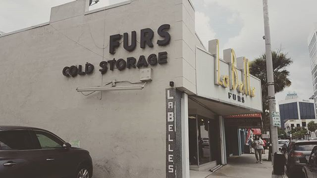 """People in #Florida do travel to #cold #weather climates and wear fur."" -the saleswoman when we said we were shocked that there is a fur store in #Orlando"