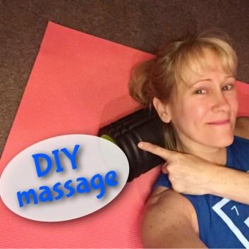 massage, foam roller, diy, fitness